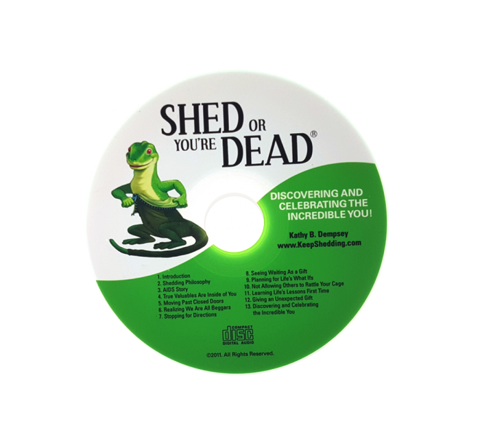Shed or You're Dead CD