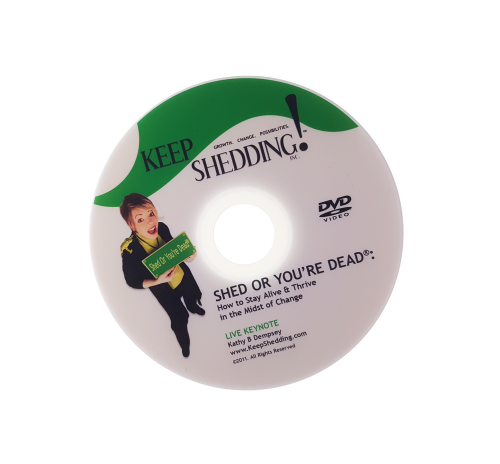 Shed or You're Dead Keynote DVD