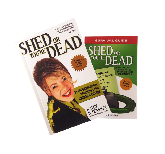 Shed for Success Book Combo