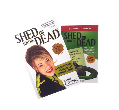 Shed for Success Book Healthcare Combo