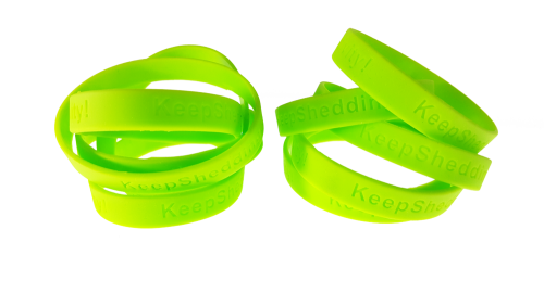 shed negativity wrist bands
