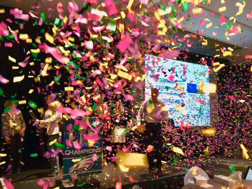 confetti celebration