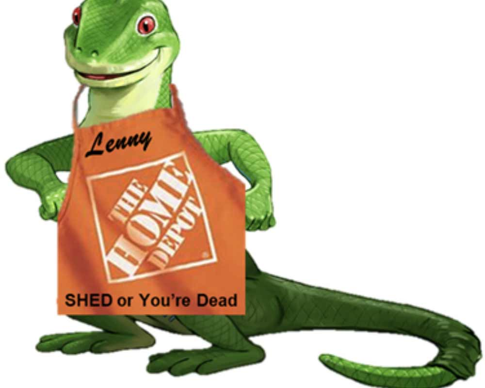 Lenny loves Home Depot