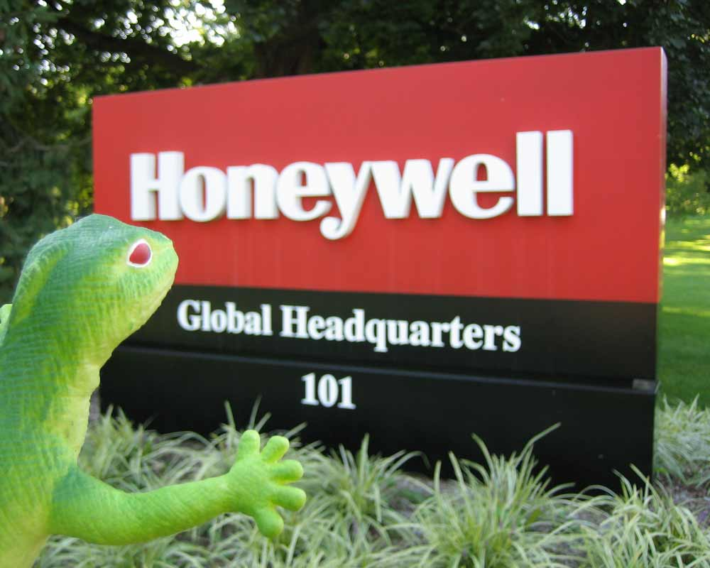 Lenny at honeywell